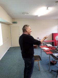 Paul Teaching BSL