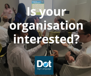 Is your organisation interested?