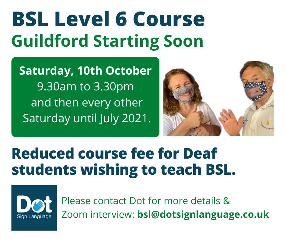 BSL Level 6 2020
