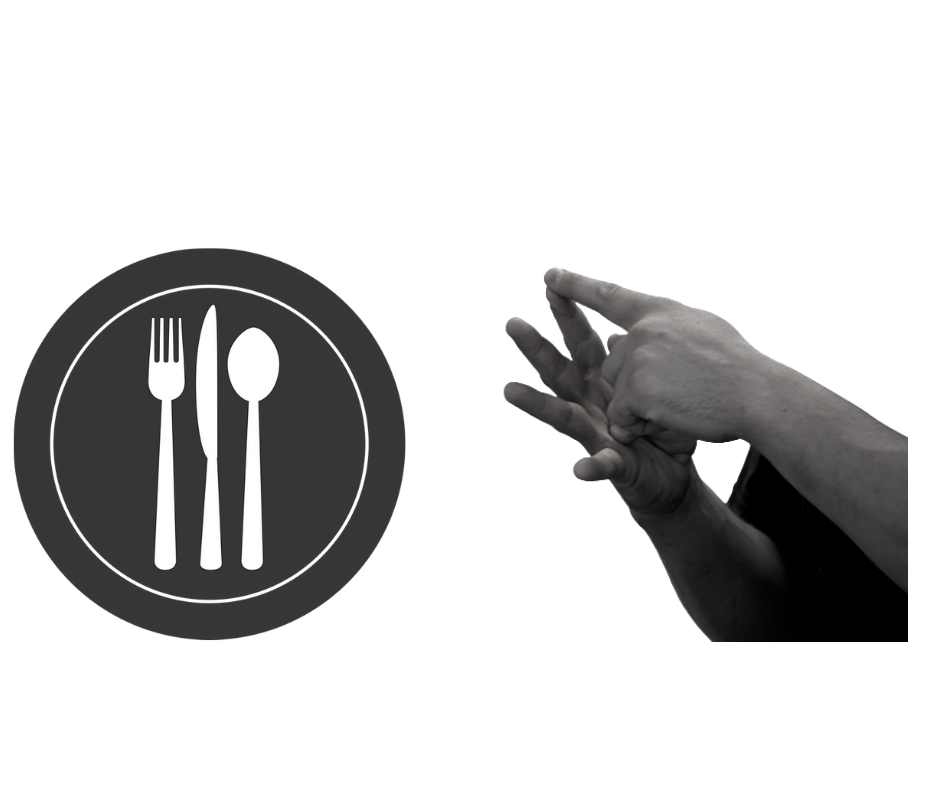 Dot Sign Language Lunch Cover